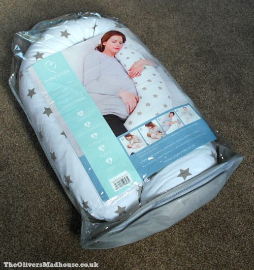 BabyBundle Widgey Plus Pregnancy & Sleep Pillow Review & Giveaway The Oliver\\\'s Madhouse