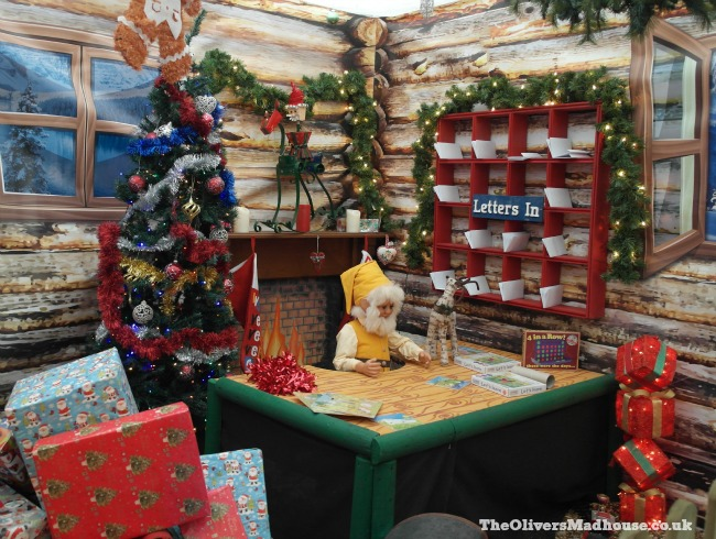 Visiting Santa's Grotto At Floralands The Oliver\\\'s Madhouse