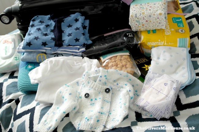 Packing My Hospital Bag Ready For My Caesarean Section The Oliver\\\'s Madhouse