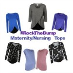 #RockTheBump Maternity & Nursing Tops
