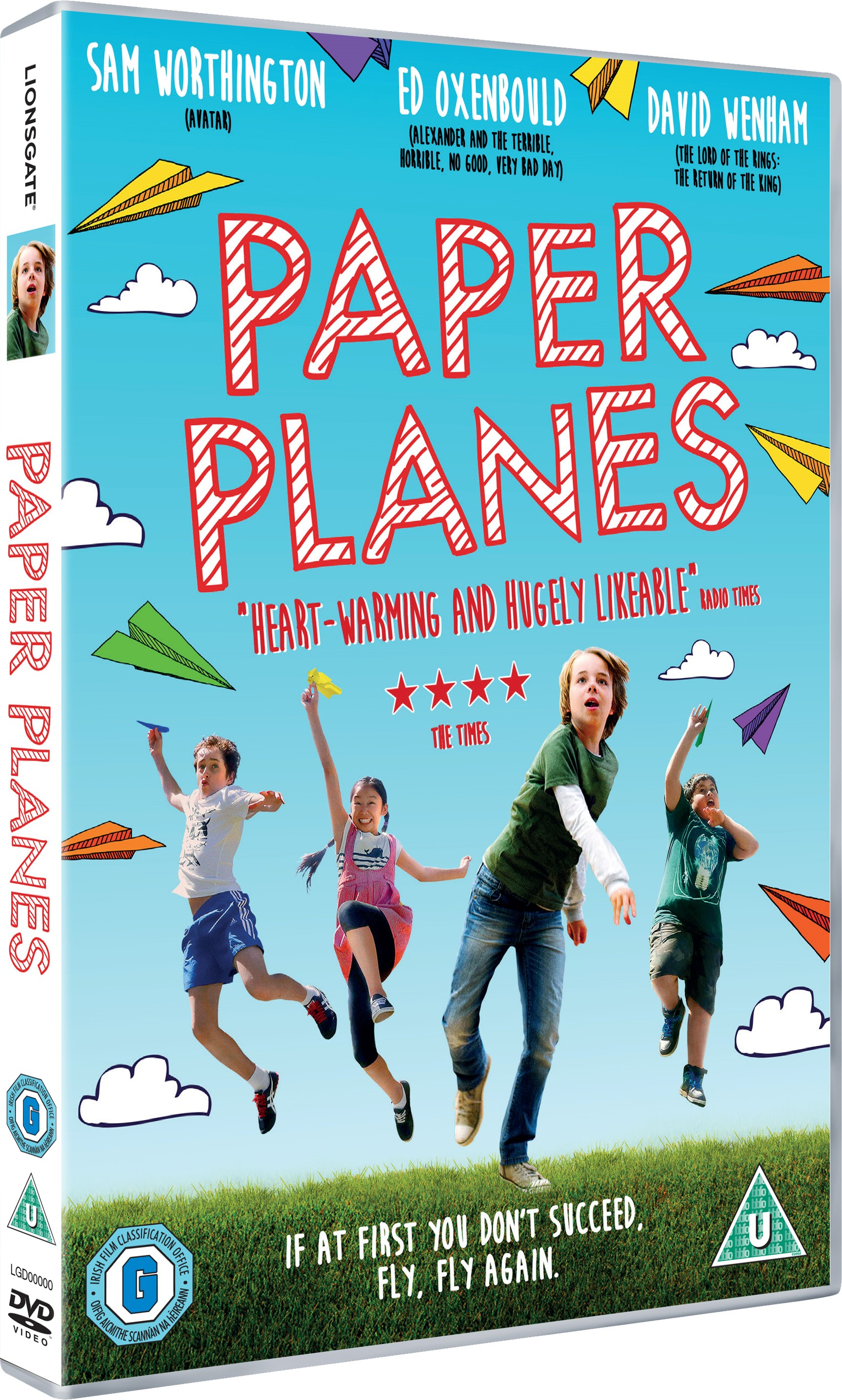 Win 1 of 2 Copies Of The New Release Film: Paper Planes On DVD (Giveaway Closed) The Oliver\\\'s Madhouse