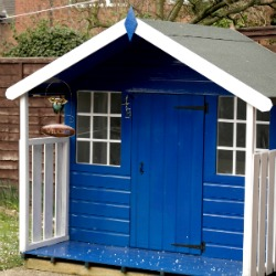 blue playhouse