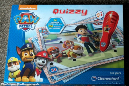 Paw Patrol Quizzy Review & Giveaway (Giveaway Now Closed) The Oliver\\\'s Madhouse
