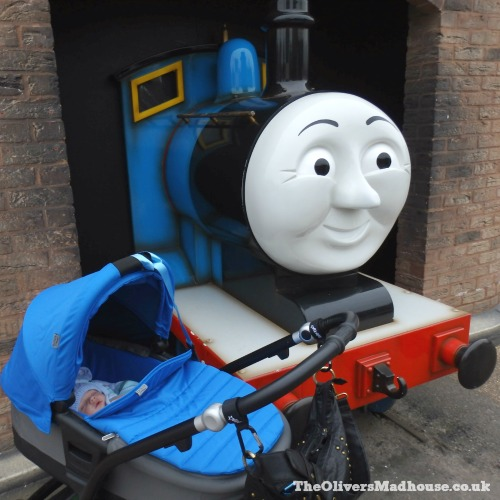 Our Day Trip To Thomas Land At Drayton Manor The Oliver\\\'s Madhouse