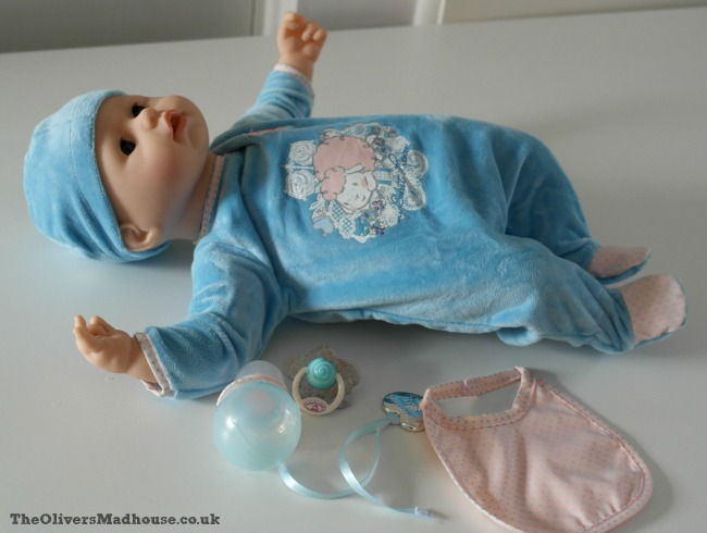 Baby Annabell's Interactive Brother Doll Review The Oliver\\\'s Madhouse