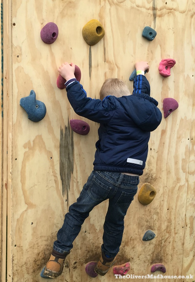 geronimo climbing wall
