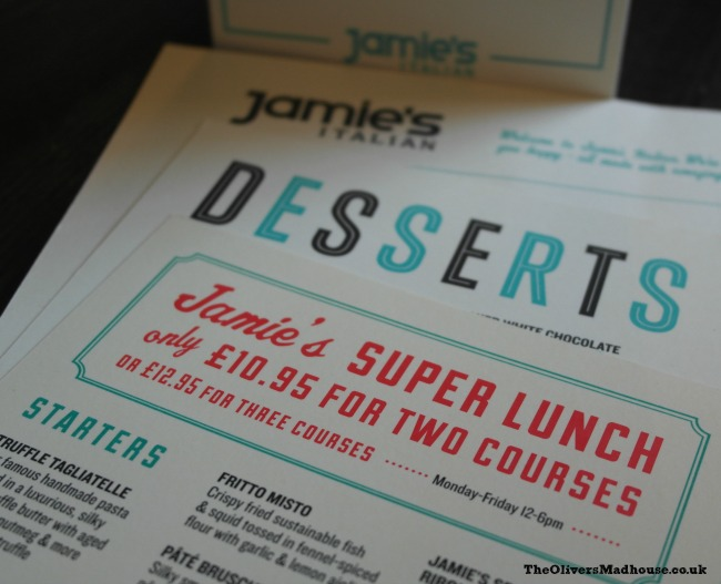 A Review: Jamie's Italian Super Lunch Deal The Oliver\\\'s Madhouse