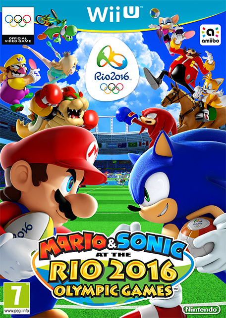 mario and sonic at the rio olympics