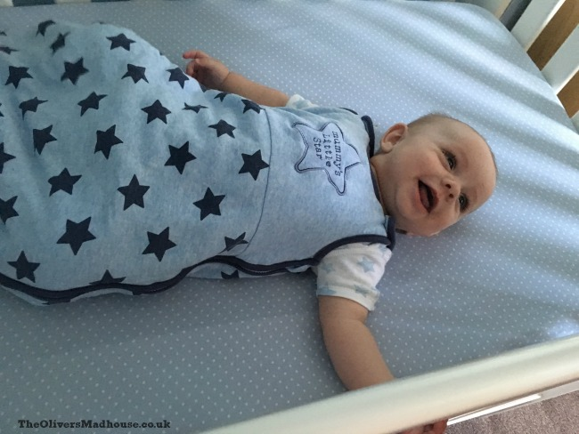 Jacobs First Night In A Cot The Oliver\\\'s Madhouse