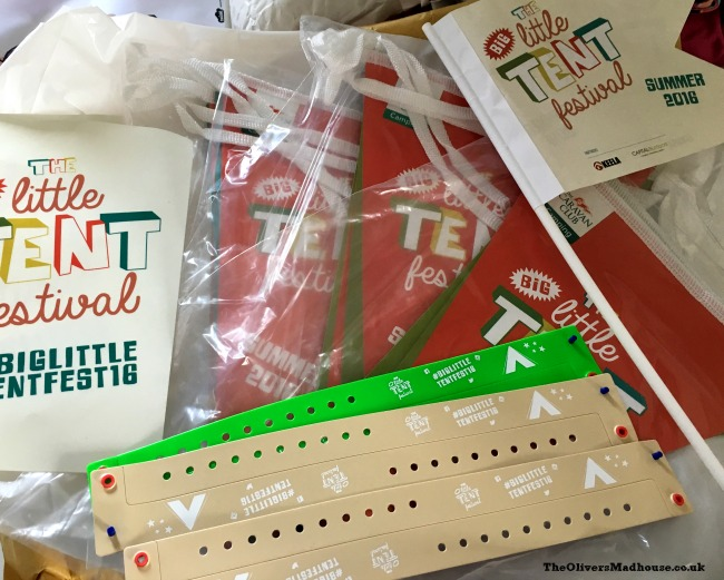 big little tent festival pack