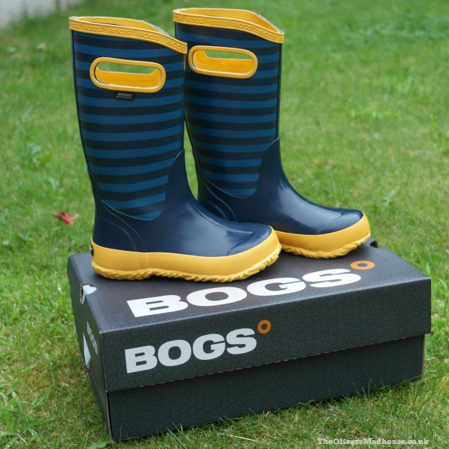 blue and yellow wellies