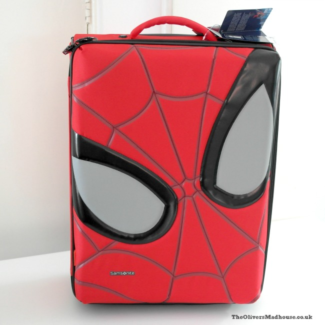 Spiderman Ultimate Samsonite Suitcase - A Review The Oliver\\\'s Madhouse