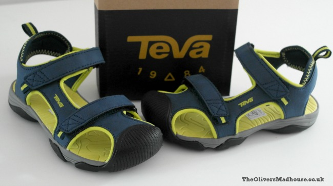 tea navy and lime kids shoes