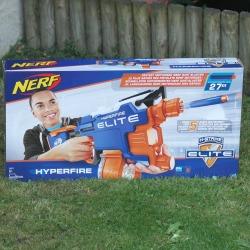 Nerf N-Strike Elite Hyperfire Blaster review