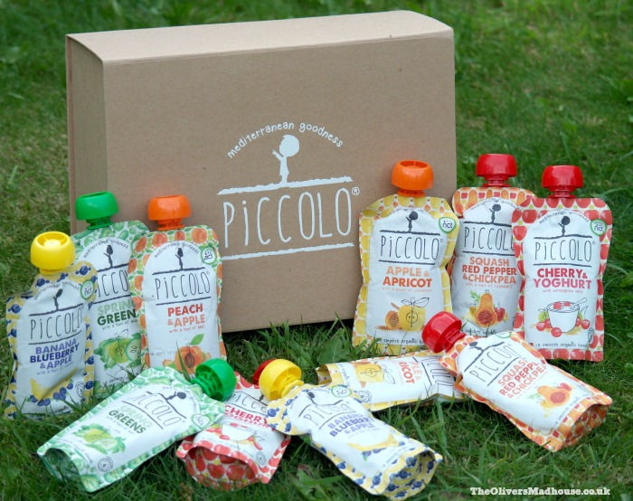 pouches of piccolo baby food