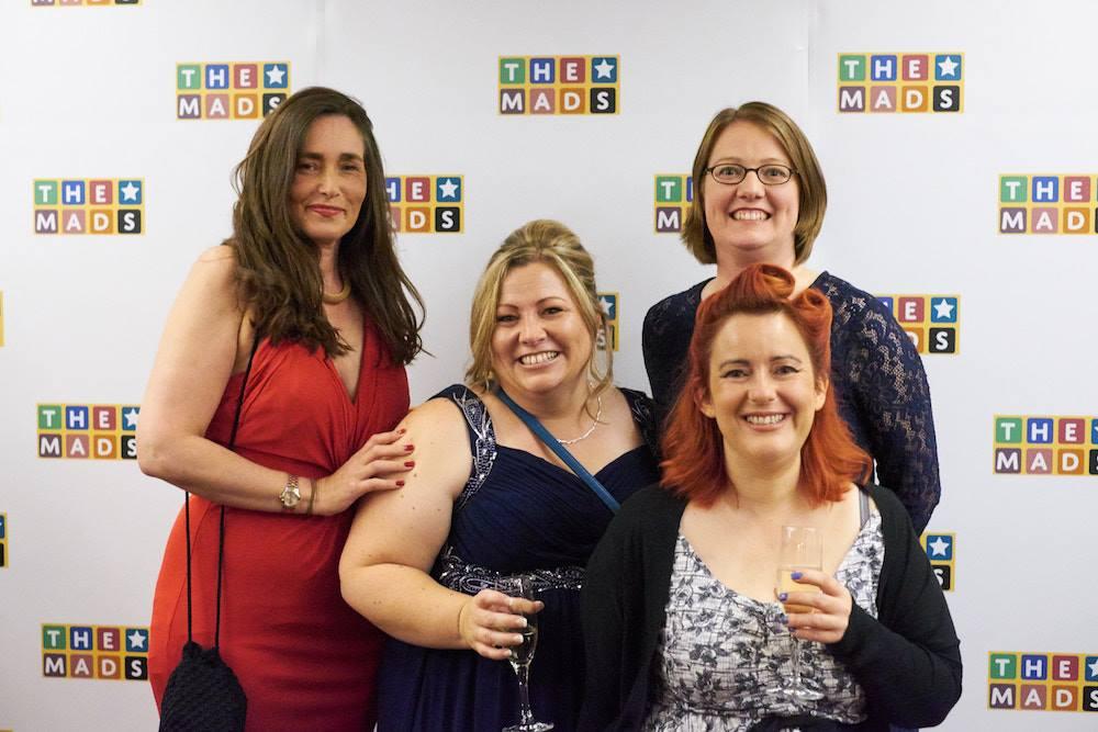 blogger at the mad blog awards
