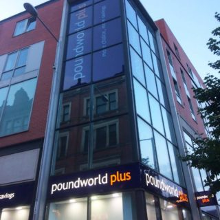 pound world plus trinity square nottingham