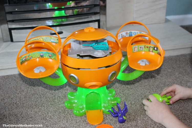 Octonauts Octopod Slime Playset - A Review The Oliver\\\'s Madhouse