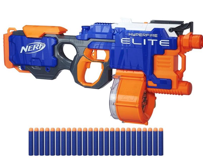 nerf hyper fire blaster