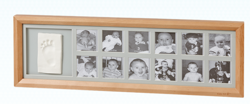 baby art wooden frame