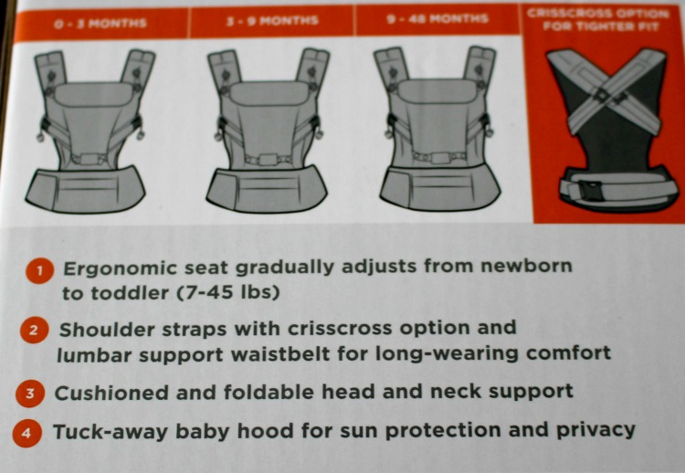 ErgoBaby ADAPT Baby Carrier Review The Oliver\\\'s Madhouse