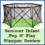A Summer Infant Pop n' Play Playpen Review