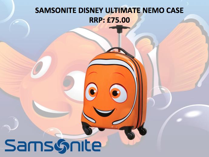 Win A Samsonite Disney Ultimate Nemo Cabin Case The Oliver\\\'s Madhouse