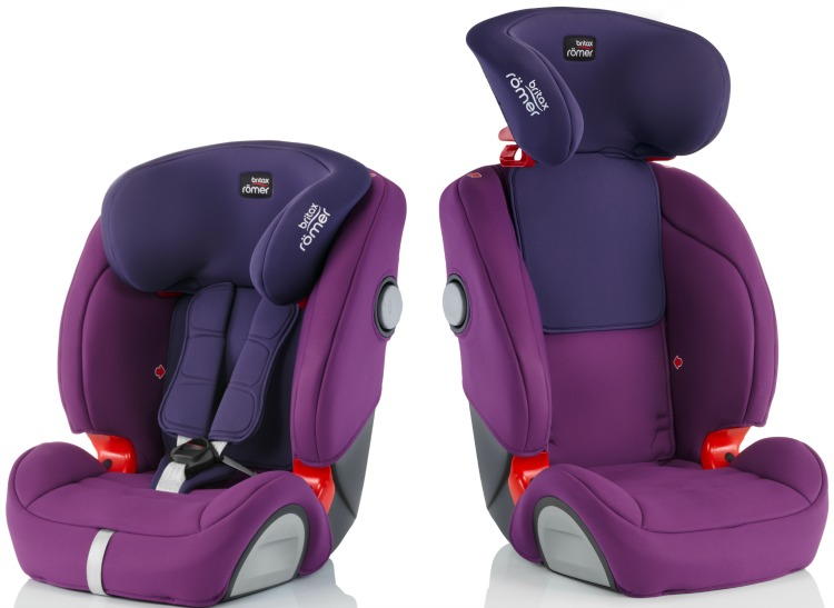 Britax Evolva 1-2-3 SL SICT - Ideal For 2 Car Families The Oliver\\\'s Madhouse