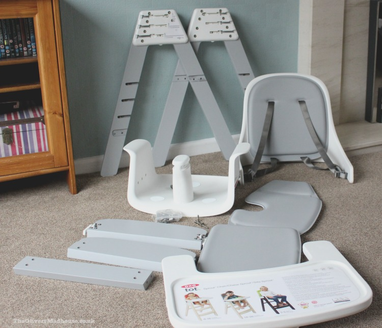 OXO Tot Sprout High Chair Review The Oliver\\\u0027s Madhouse