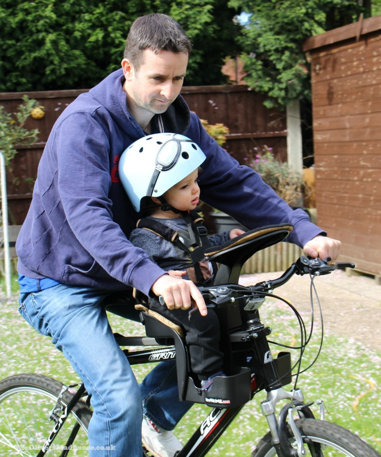 How The WeeRide Kangaroo Bike Seat Keeps Our Family Rolling The Oliver\\\'s Madhouse