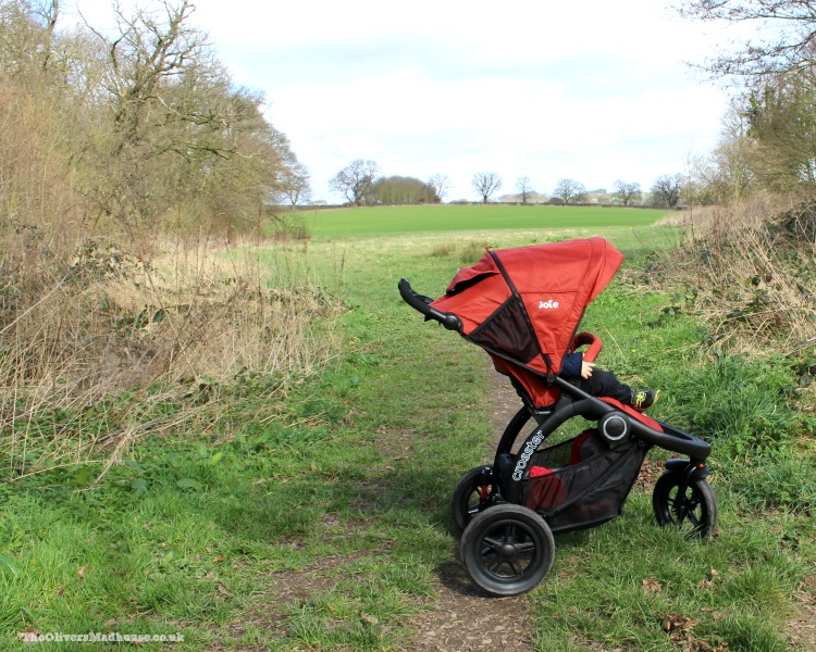 JOIE crosster all terrain pushchair review