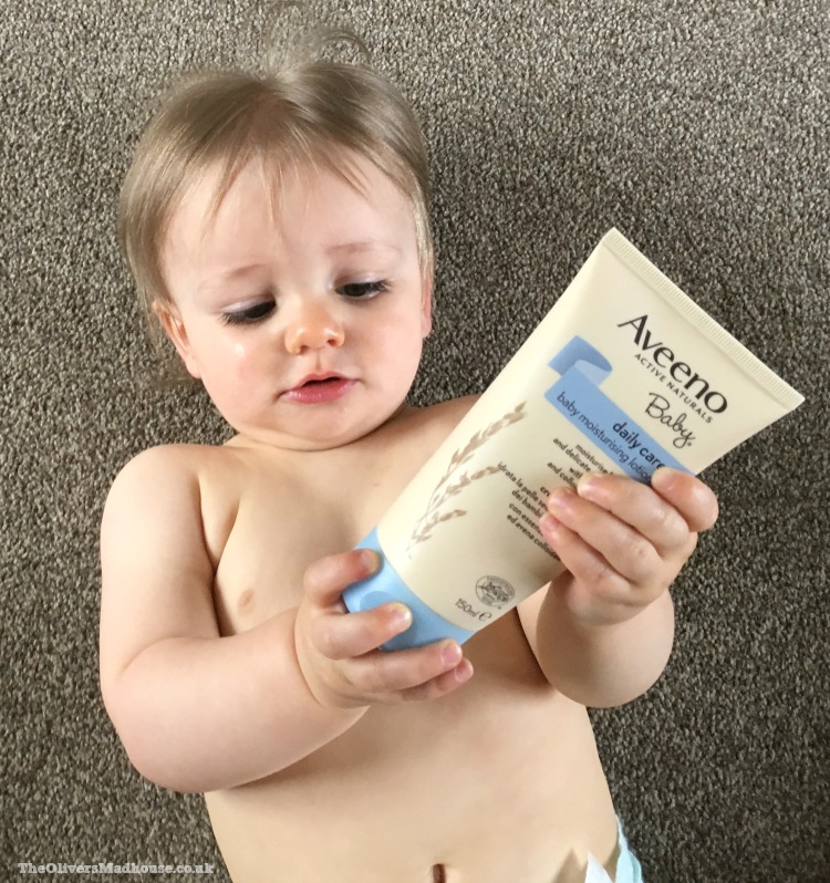 AVEENO Baby Daily Care Range - A Review The Oliver\\\'s Madhouse