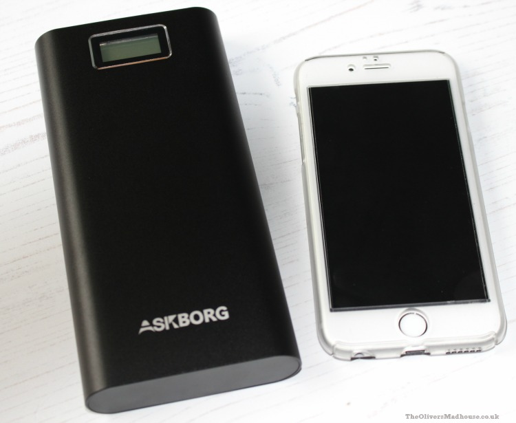 Keeping Charged With Askborg - A Review & Giveaway The Oliver\\\'s Madhouse
