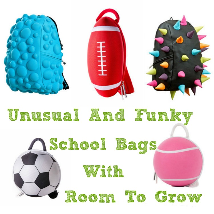 Unusual And Funky School Bags With Room To Grow The Oliver\\\'s Madhouse