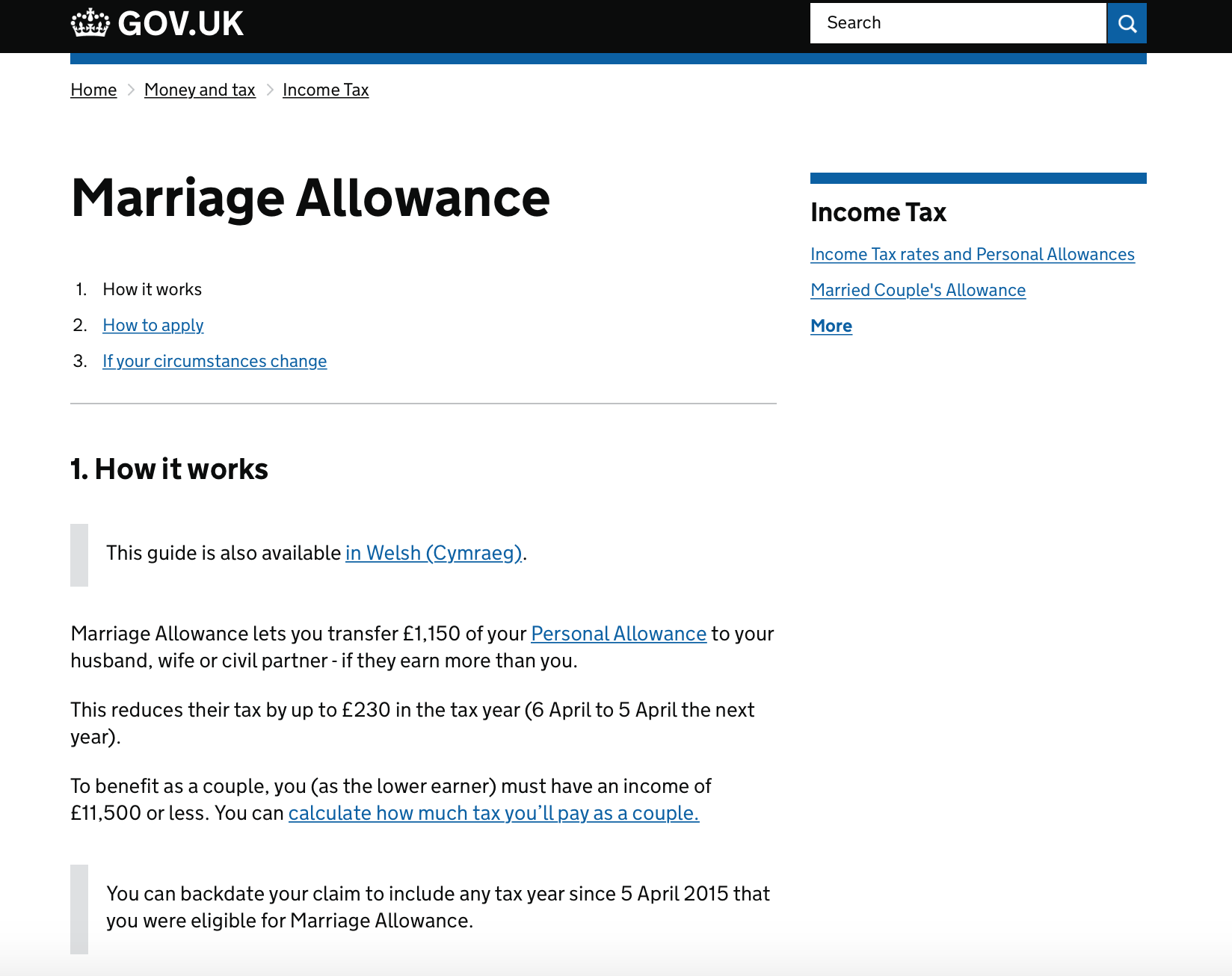 Marriage Allowances You Can Claim The Oliver\\\'s Madhouse