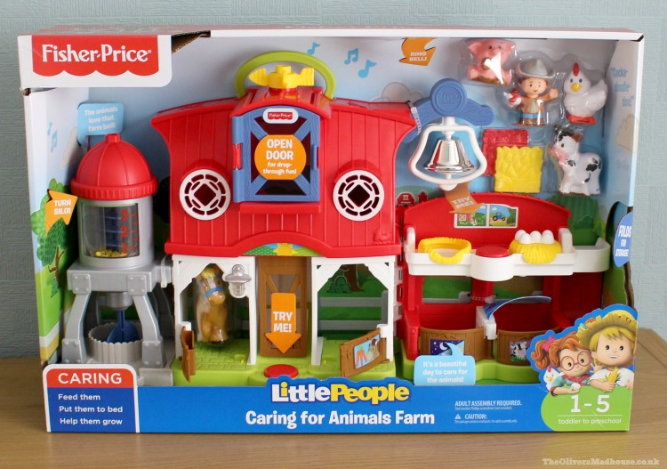 A Review Of The Fisher Price Little People - Caring For Animals Farm The Oliver\\\'s Madhouse