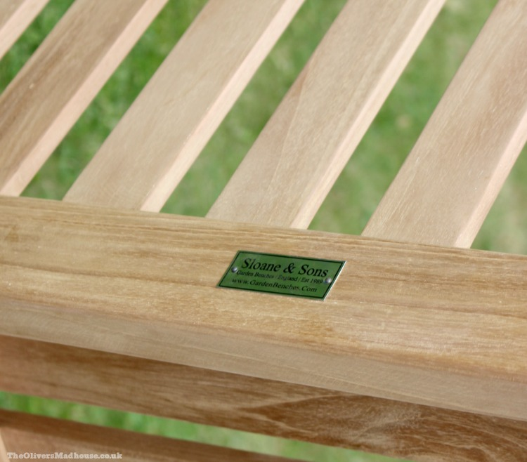 Quality Time Deserves Quality Seating With Sloane & Sons Garden Benches The Oliver\\\'s Madhouse