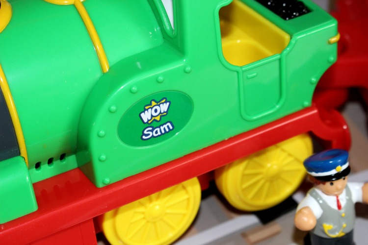 Wow Toys Sam The Steam Train - A Review The Oliver\\\'s Madhouse