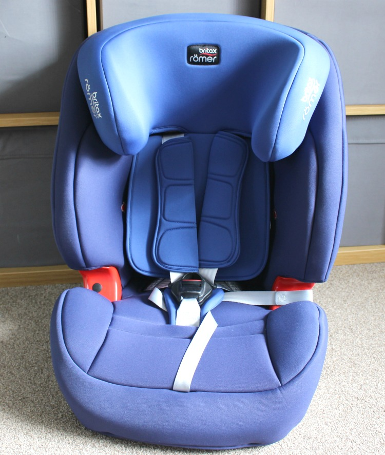 Britax Romer EVOLVA 1-2-3 SL SICT Car Seat Review The Oliver\\\'s Madhouse