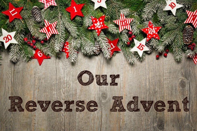 Image result for reverse advent