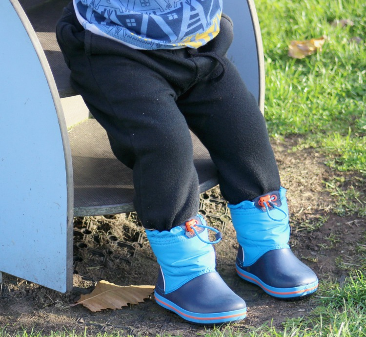 Having Winter Covered With Crocs Wellies The Oliver\\\'s Madhouse