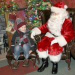 Visiting Santa At Sundown Adventure Land