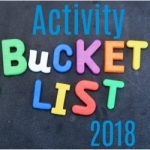 Our Family Activity Bucket List For 2018
