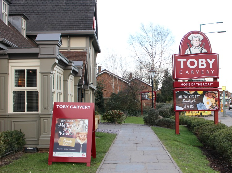 Tea Time At Toby Carvery Colwick Park The Oliver\\\'s Madhouse