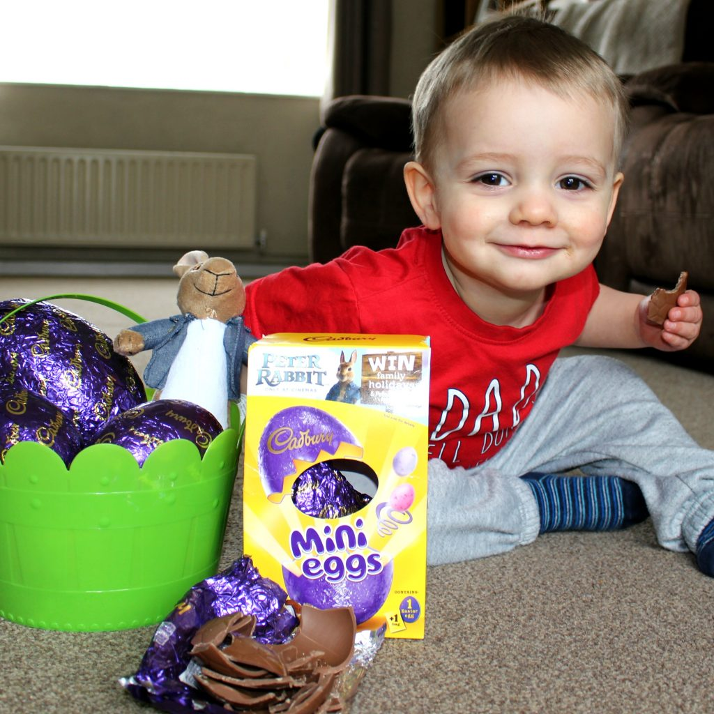 Celebrating Easter With Cadbury and Peter Rabbit The Oliver\\\'s Madhouse