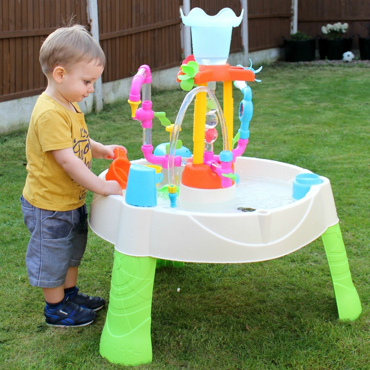 Here's To The Start Of Garden Fun With The Little Tikes Fountain Factory Water Table The Oliver\\\'s Madhouse