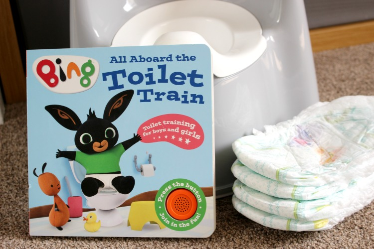 Preparing For Potty Training With The Bing All Aboard The Toilet Train The Oliver\\\'s Madhouse