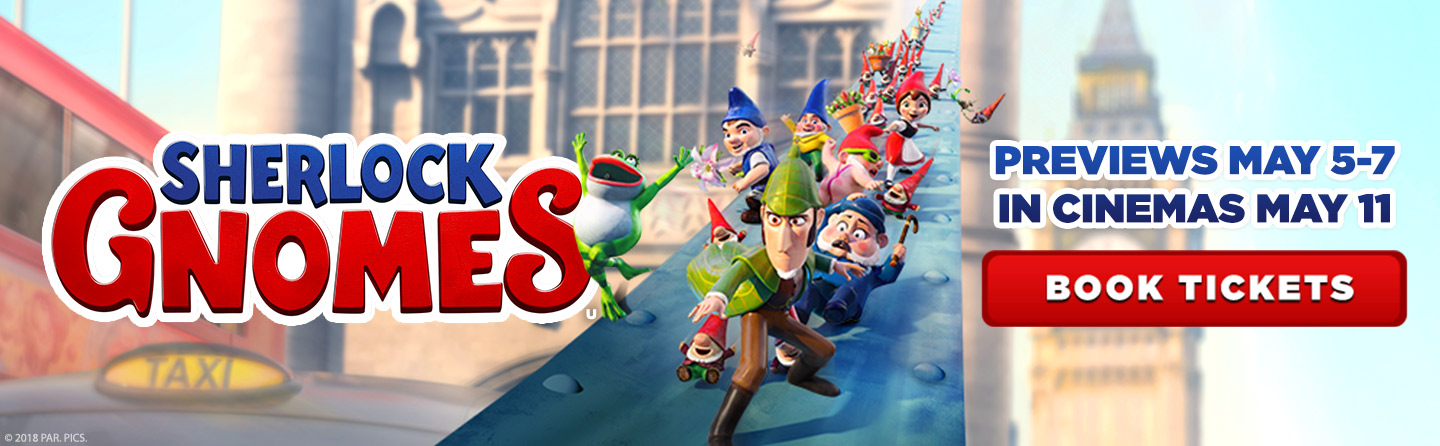 The First Family Cinema Trip - Sherlock Gnomes At Showcase Cinemas de Lux Derby The Oliver\\\'s Madhouse