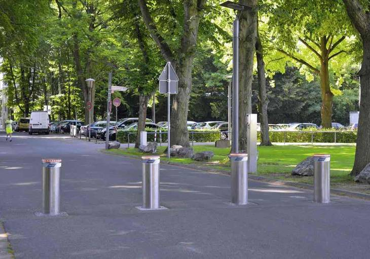 Helping To Secure  Whats Valuable - Bollard Security Options The Oliver\\\'s Madhouse