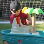 Summer Fun With The Step2 Splish Splash Seas Water Table